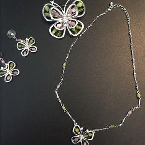 Jewelry - Jewelry set Cutler butterfly